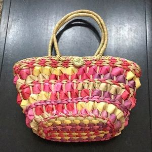 Summer basket handbag purse